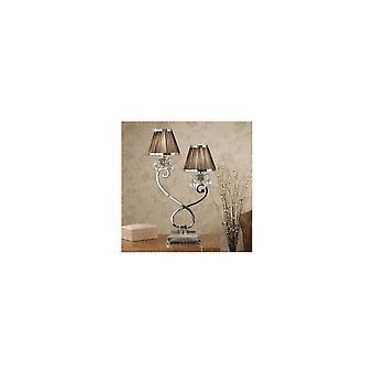 Lampe de Table intérieurs 1900 UL1T2N + 2 X UL1TNSHC Oksana 2 lumière dans Nick