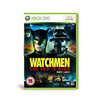 Watchmen The End is Nigh - Deel 1 en 2 (Xbox 360) - Als nieuw