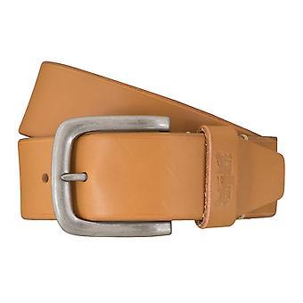 Cinturón de los pantalones vaqueros de Levi BB´s cinturones hombre cinturones cuero beige 2993
