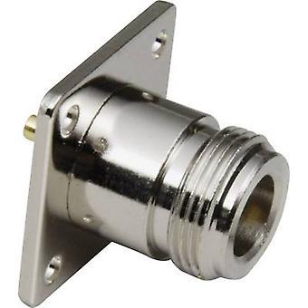 BKL elektronische 0404027 N connector socket, verticaal verticaal 50 Ω 1 PC (s)