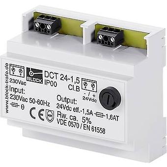 Block DCT 24-2,5 Rail mounted PSU (DIN) 2.5 A