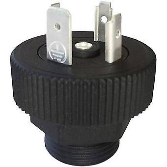 Hirschmann 931 297-001 GSP 311 Connector Plug Black Number of pins:3 + PE