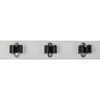 40 146 PRAX device-holder strip 3-25W (L x W) 330 mm x 60 mm