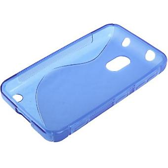 TPU الحالة متحركة للجوال نوكيا الفيديو 620 الأزرق