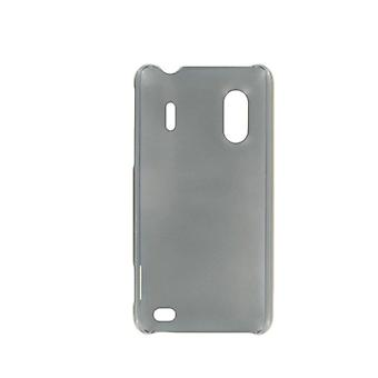 Sprint Hard Plastic Shell Case for HTC EVO Design 4G (Silver/Gray)
