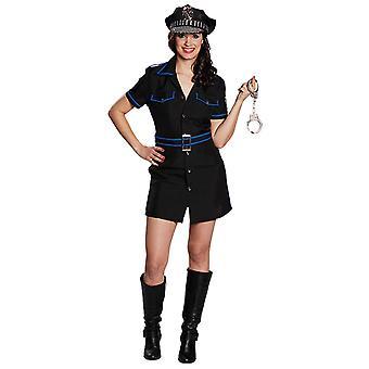 Polizistin Damen kostüm Gesetzteshüterin Karneval Weiberfastnacht