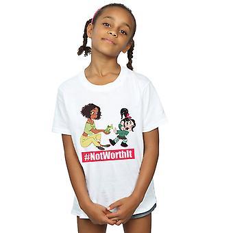 Disney Girls Wreck It Ralph Tiana And Vanellope T-Shirt