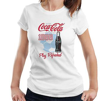 Official Coca Cola White Play Refreshed Women's T-Shirt