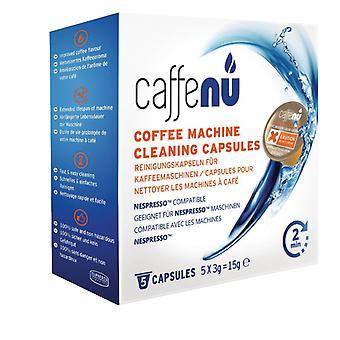 Caffenu Reinigung Kapsel Kaffeemaschine 5 PCs