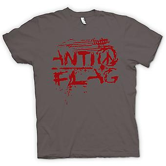 Mens T-shirt - Anti - Flag - US - Punk Rock Band - Anarchy