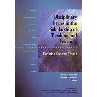 Disciplinaire stijlen in de beurs van onderwijzen en leren - Expl