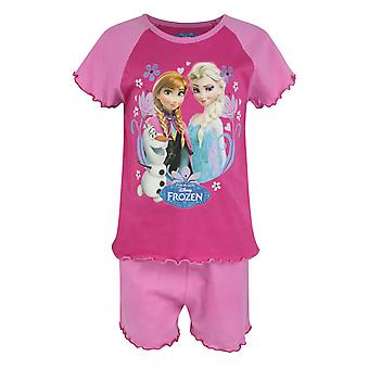 Frozen Girl's Pyjama Shorts Set Pink