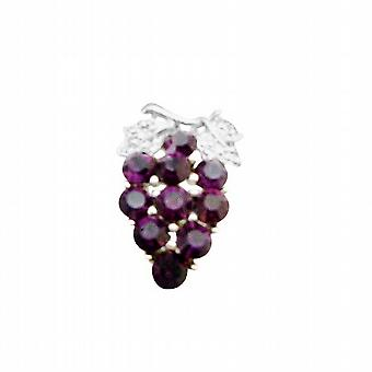 Prom Bijoux Cristaux Améthyste Dress Jewel Broche