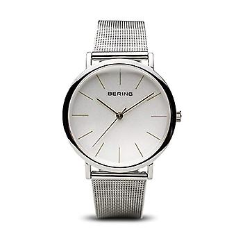 BERING Quartz Analog Unisex Adult with stainless steel strap 13436-001