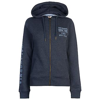 SoulCal Womens Hoodie Deluxe Mesdames