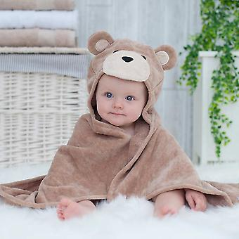 Toffee Teddy baby towel