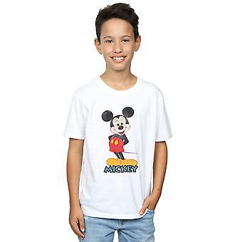 Posa di Disney ragazzi Topolino Retro t-shirt