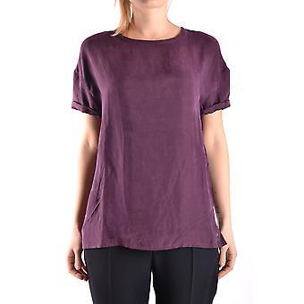 Jacob Cohen Ezbc054201 Damen's Burgund Viskose T-shirt