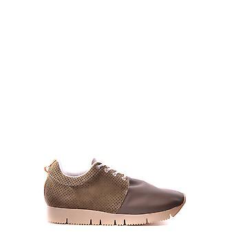 Cuir Crown Ezbc111001 Men-apos;s Green Fabric Sneakers