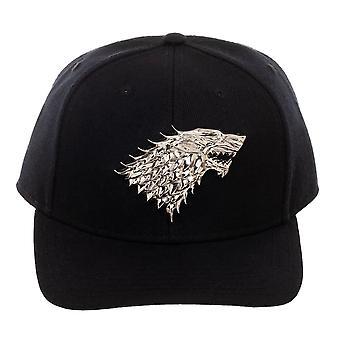 Game of Thrones Stark Sigil Snapback Cap