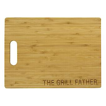 Say What Bamboo Cutting Board