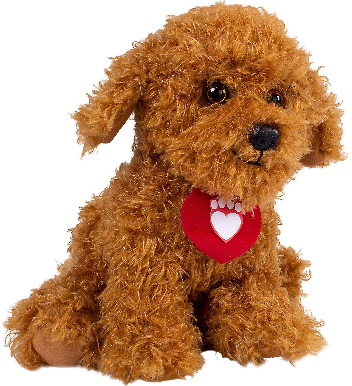 Vaffel Wonder hund blødt legetøj med lyde