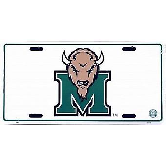 Marshall Thundering Herd NCAA registrerings skylt