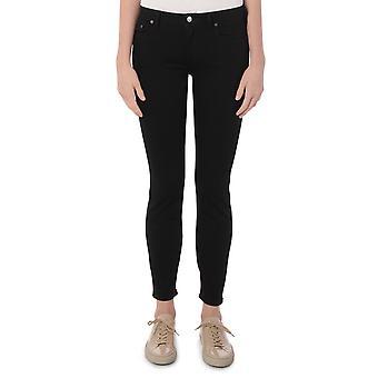 Acne Studios 30d165re Women's Black Cotton Jeans
