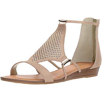 Carlos by Carlos Santana Womens Tinley Fabric Open Toe Casual Ankle Strap San...