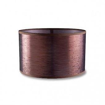 Kleine ronde antieke koperen afwerking schaduw aankleden