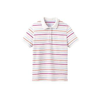 Joules Pippa Print Womens Polo Shirt - Multi Stripe