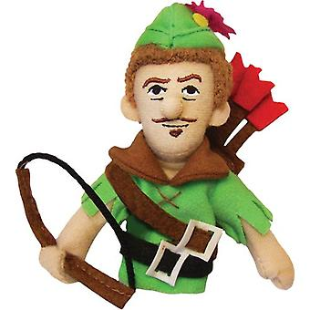 Finger Puppet - UPG - Robin Hood Soft Doll Toys Gifts Licensed New 1839