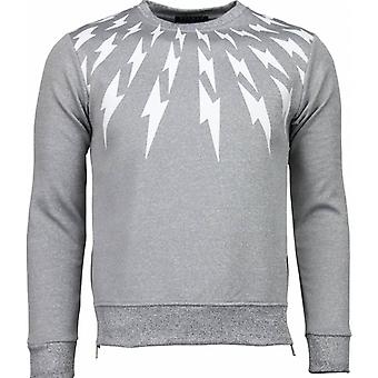 Thunder-sweatshirt-light grey
