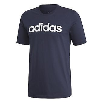 Adidas Essentials Lineal DU0406 camiseta universal todo el año hombres