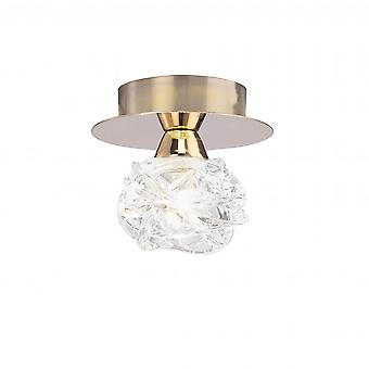 Mantra Maremagnum Ceiling 1 Light G9, French Gold