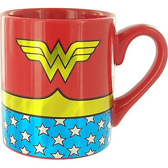 Wonder Woman Gold Foil Costume Mug