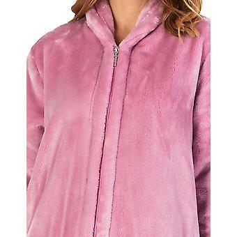 Slenderella HC4340 Frauen's Hausmäntel Mauve rosa Kleid