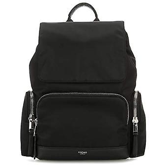 Knomo Mayfair Cap Casual Backpack - 38 cm - 16 liters - Black (Black)