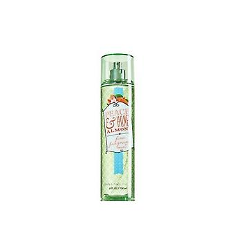 Bath & Body Works Peach & Honey Almond Fine Fragrance Mist 8 fl oz / 236 ml