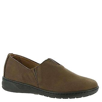 David Tate Womens celine Leather Closed Toe Loafers