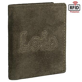 Vertical Men's Wallet Leather Waterproof Sand Model
