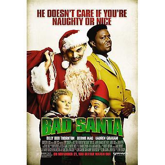 Bad Santa (single sided regular) (2003) poster original do cinema