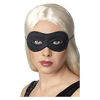 Womens zwart Farfalla Eyemask Fancy Dress accessoire