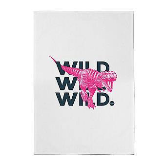 Wild Dinosaur Cotton Tea Towel