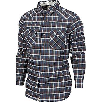 VANS Men's Bardale Long Sleeve Shirt Small