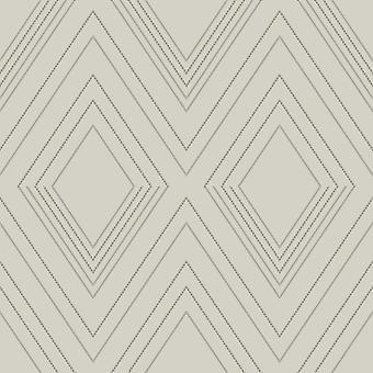 Alea geometrische Tapete Elfenbein / Champagner Muriva 703043
