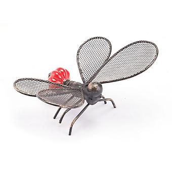 "6.7"" X 4.5"" X 3.1"" Red Flying Ant Sculpture"