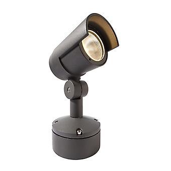 Lámpara de punto LED Keid 20 W 3000 K 211x120 aluminio gris oscuro IP65