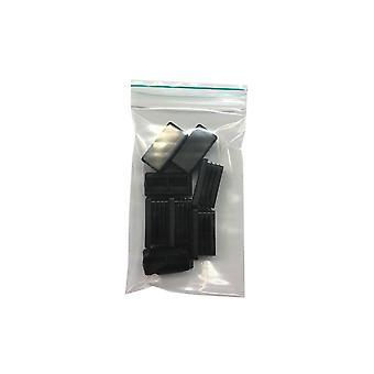 Einfügung Cap Rechteck 3 x 4 cm (Tasche 8 Stück)