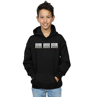 Star Wars Boys The Mandalorian The Child Tiles Hoodie